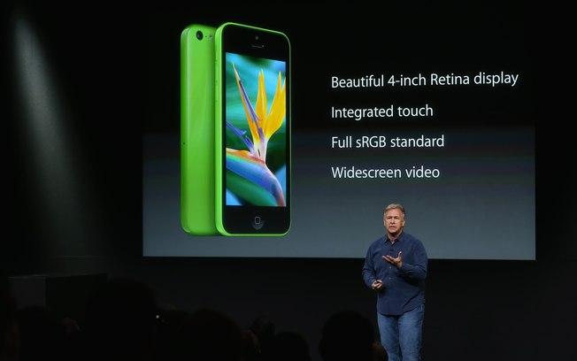 Apresentação do iPhone 5C