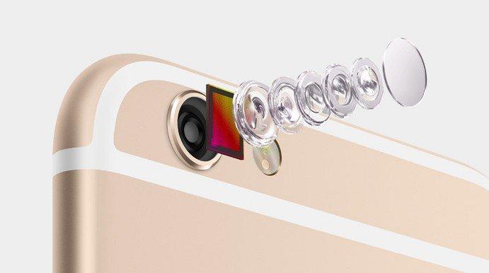 Camera do iPhone 6