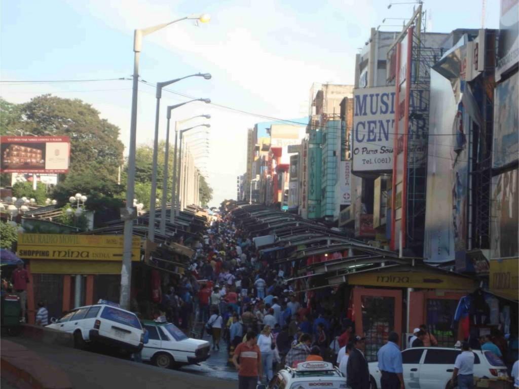 Lojas de comercio em ciudad del este no paraguai