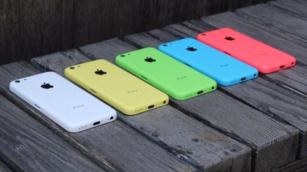 Cores do iPhone 5C
