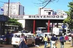 Fronteira no Paraguai