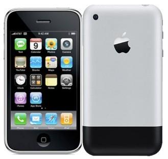 iPhone 1 - Frente e Fundo