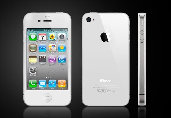 iPhone 4s - Branco - Frente, Costas e Lateral