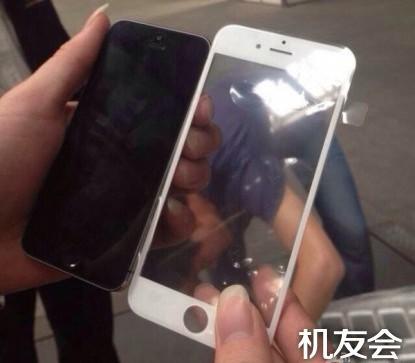 Possível tamanho da nova tela do iPhone 6