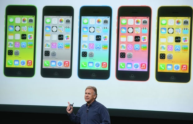 Lançamento do novo iPhone 5s e 5c