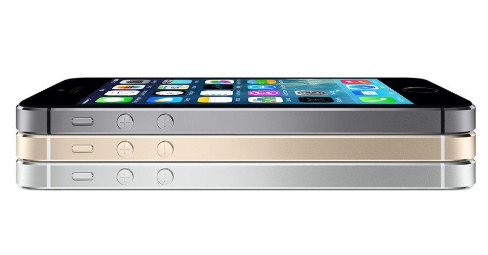 Novos iphone 5s preto branco e dourado
